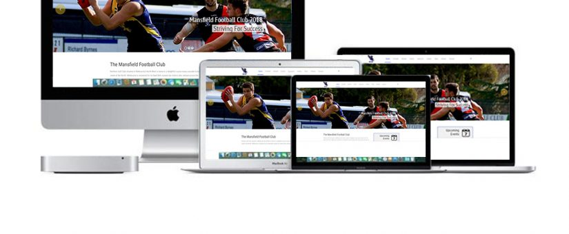 Mansfield Football Netball Club new Website is Live!!!