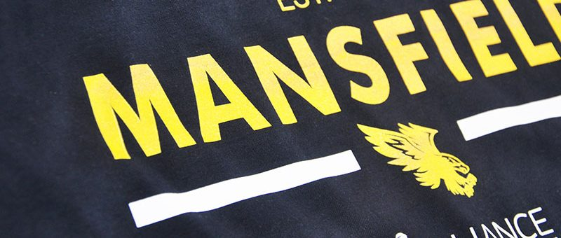 Eagles Shop  | Mansfield Eagles American Varsity T-Shirt