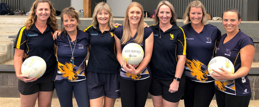Mansfield Netball Club Coaches 2020