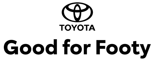 Logo Toyota Good for Footy